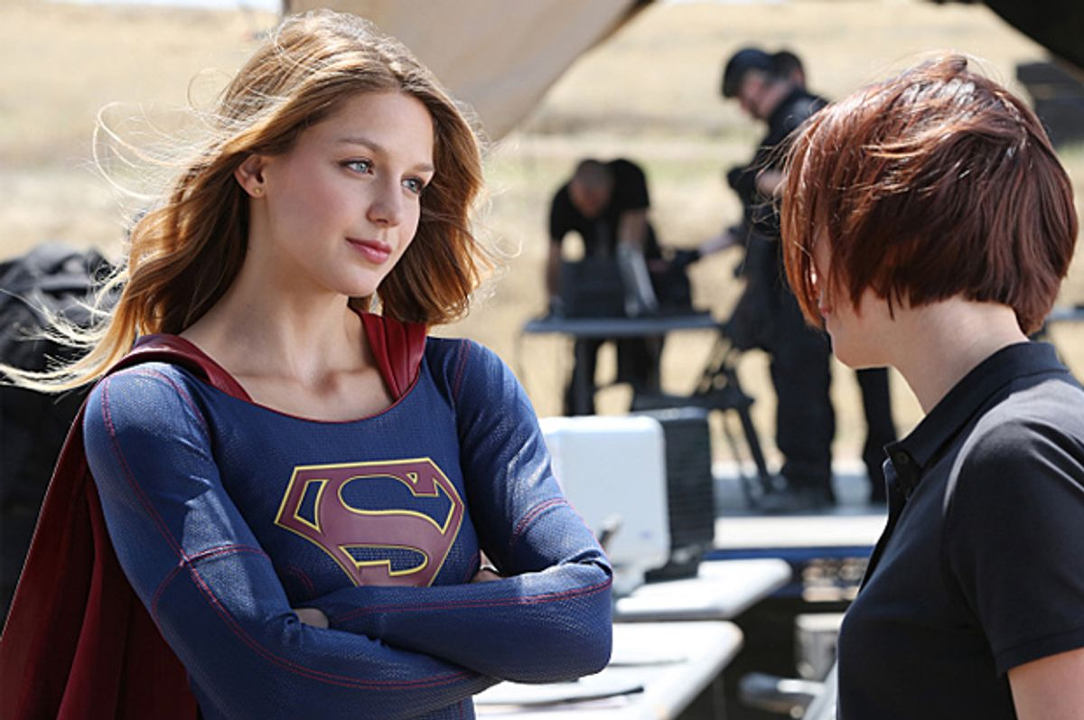 "Melissa Benoist in ""Supergirl"" (CBS)"