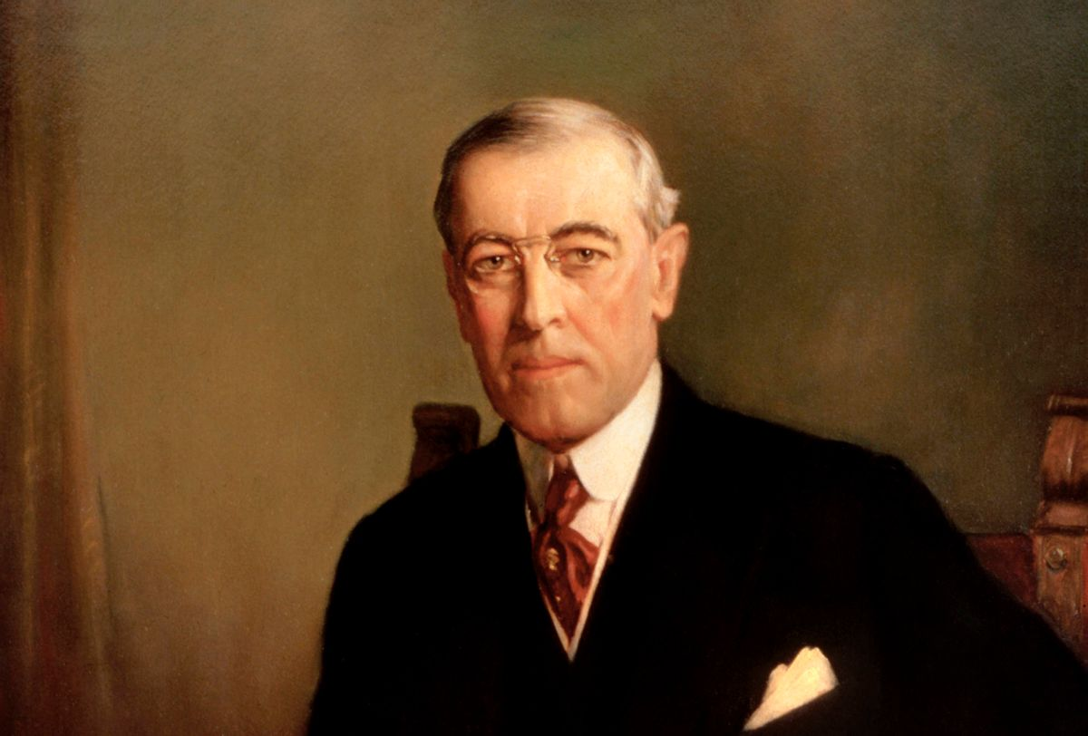 """(""""Presidentwoodrowwilson"""" by Frank Graham Cootes - http://www.whitehouseresearch.org/assetbank-whha/action/viewHome. Licensed under Public Domain via Wikimedia Commons)"""