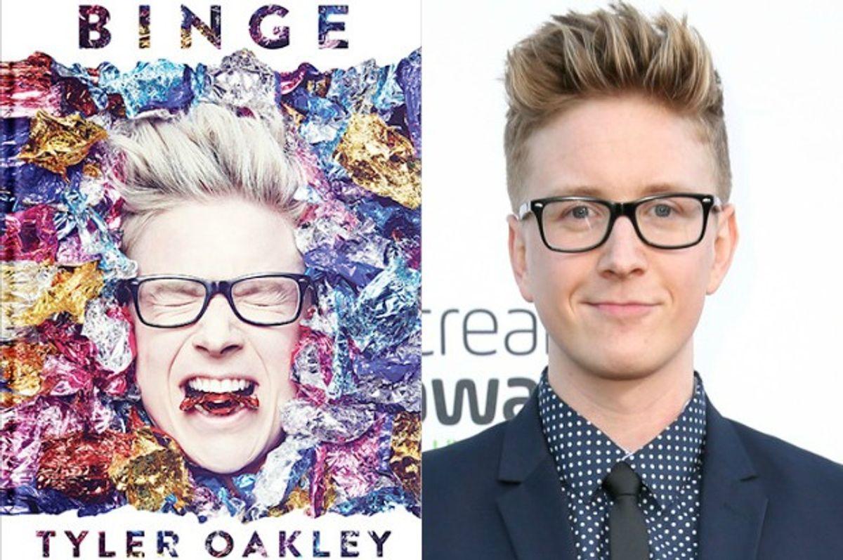 """Binge,"" Tyler Oakley (Simon and Schuster/Rich Fury/Invision/AP)"