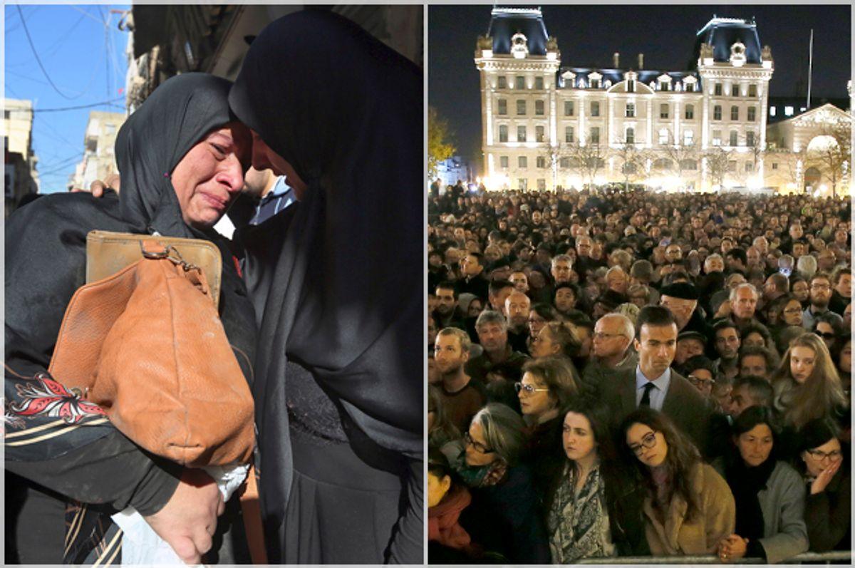 (AP/Bilal Hussein/Reuters/Gonzalo Fuentes)