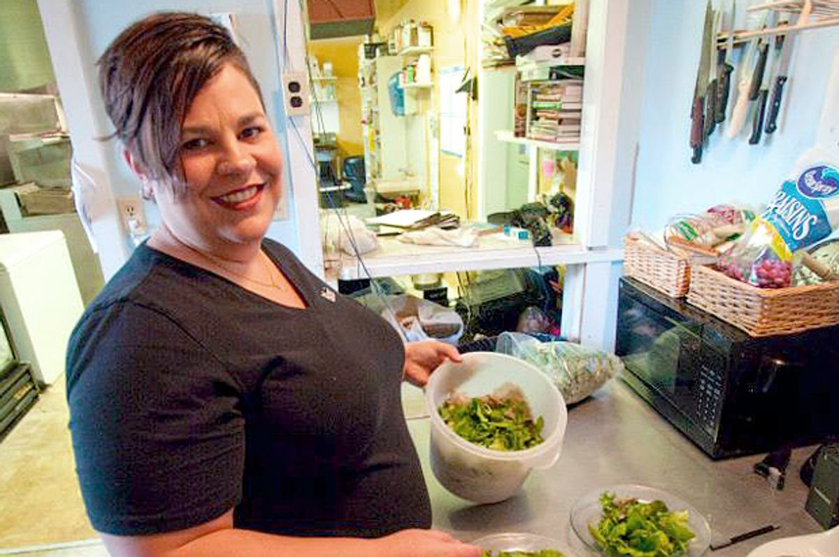 Blair Campbell, owner of the Pretty Penny Cafe   (Kirsten Boehmer)