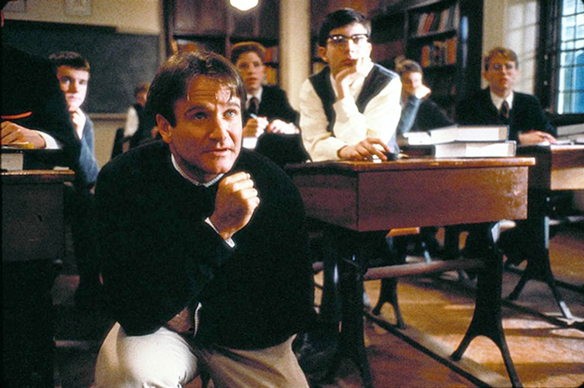"""Robin Williams in """"Dead Poets Society""""    (Touchstone Pictures)"""