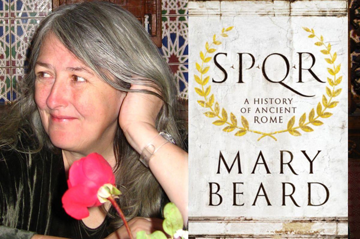 Mary Beard   (W. W. Norton & Company, Inc./Robin Cormack)