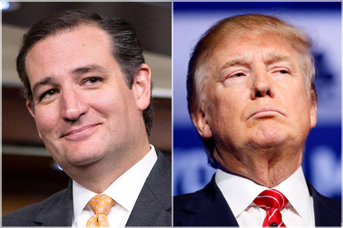 Ted Cruz and Donald Trump (AP/J. Scott Applewhite/Reuters/Rick Wilking)