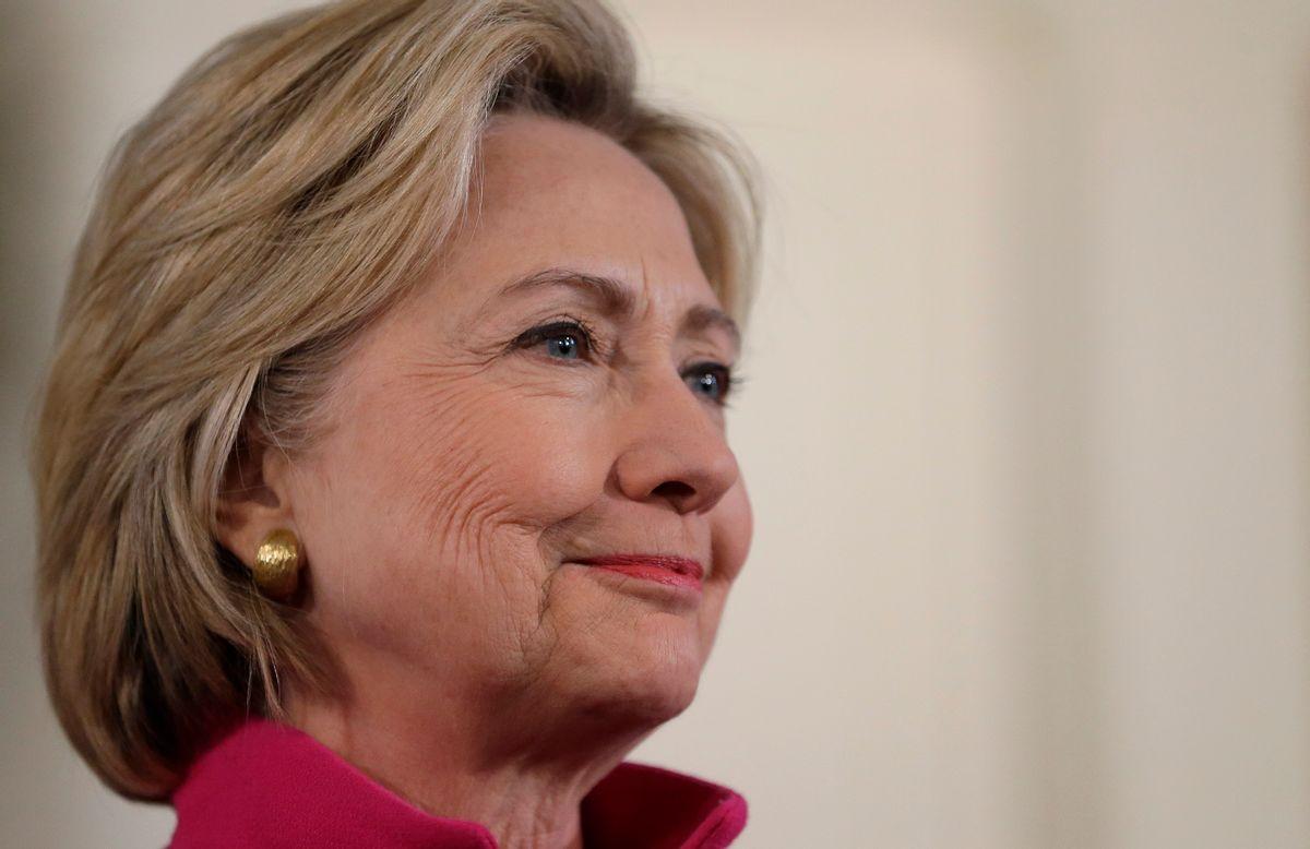 Democratic presidential candidate Hillary Clinton. (AP/Steven Senne)