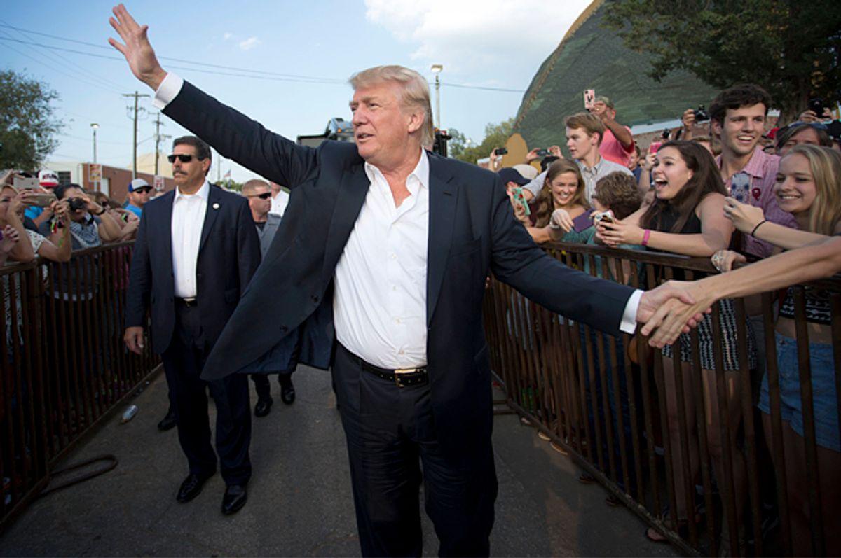 Donald Trump  (AP/J Pat Carter)