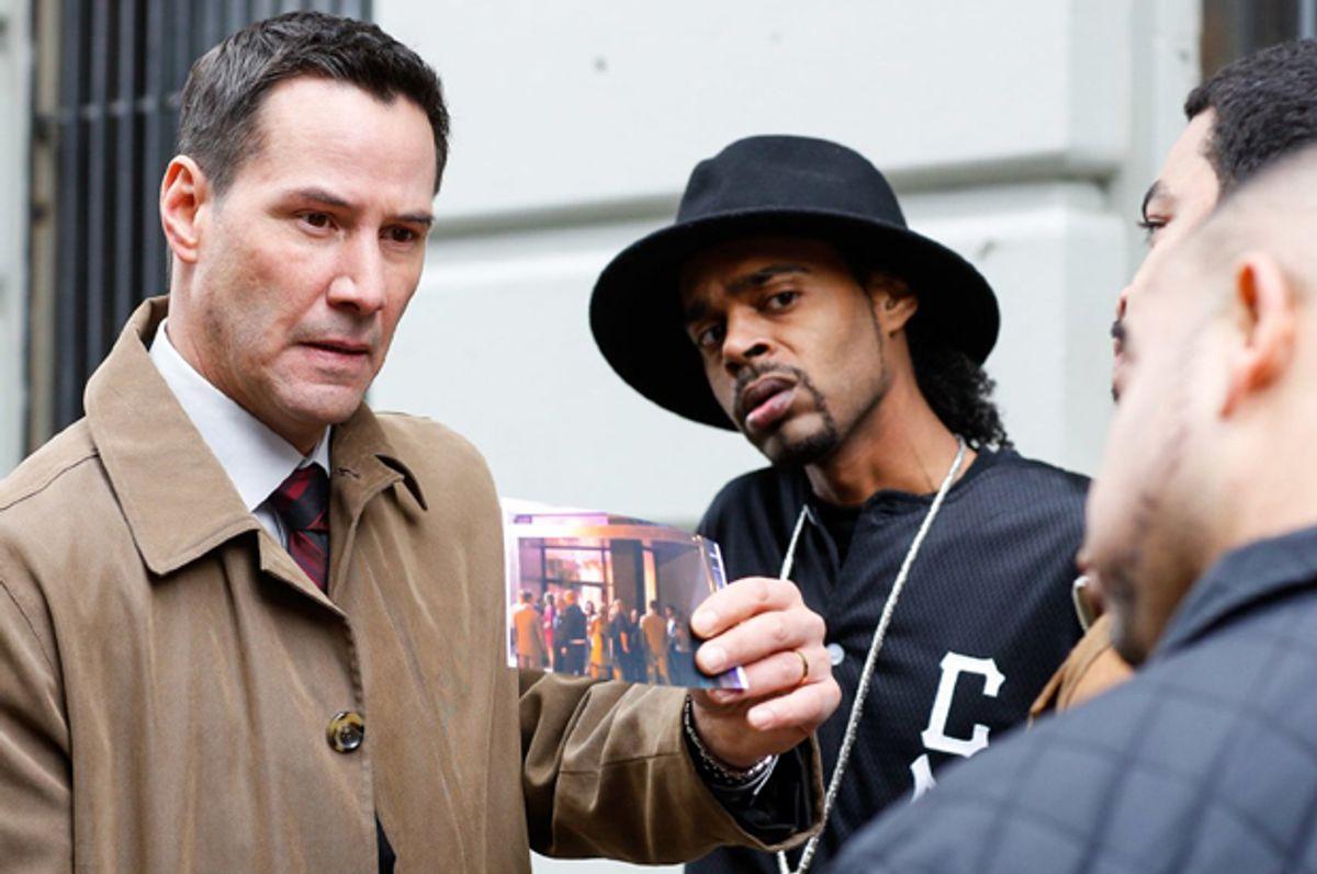"""Keanu Reeves in """"Exposed""""   (Fortitude International)"""