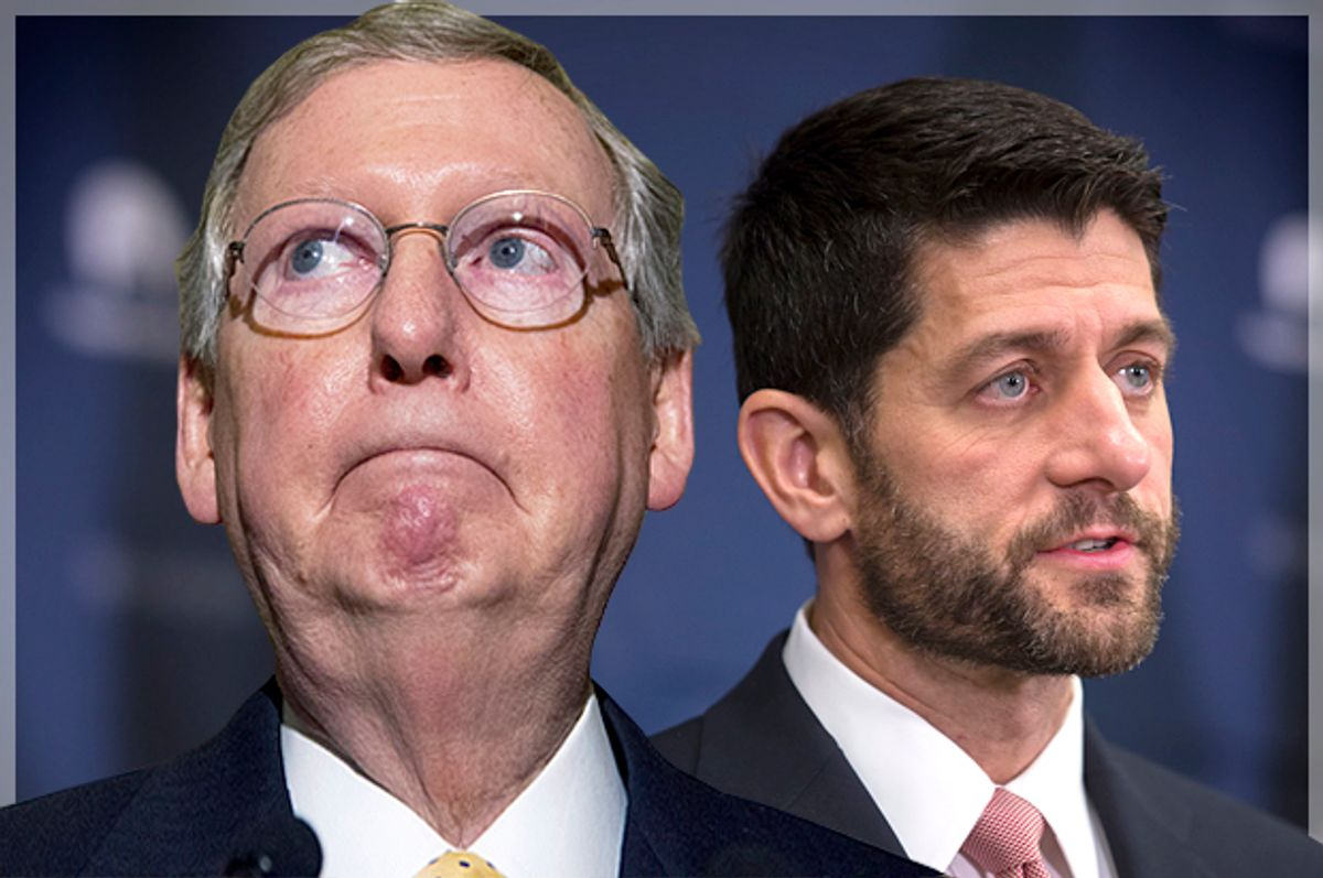 Mitch McConnell, Paul Ryan   (AP/Manuel Balce Ceneta/Jeffrey Malet, maletphoto.com)