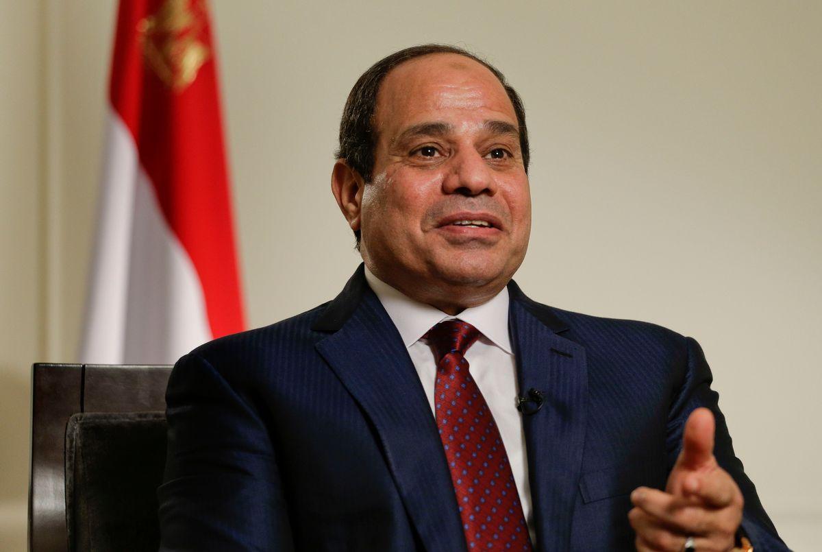 Egyptian President Abdel Fattah el-Sisi  (AP/Julie Jacobson)
