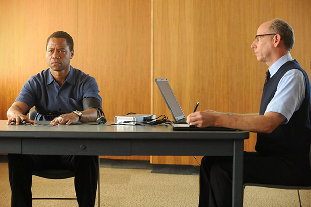 """Cuba Gooding Jr. and Joseph Buttler in """"The People v. O.J. Simpson: American Crime Story""""   (FX)"""