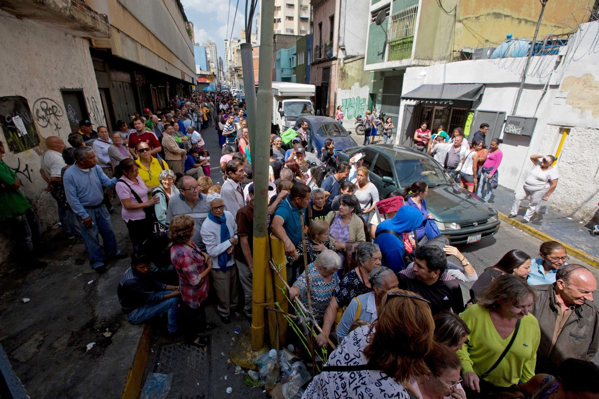 Caracas, Venezuela (AP/Fernando Llano)
