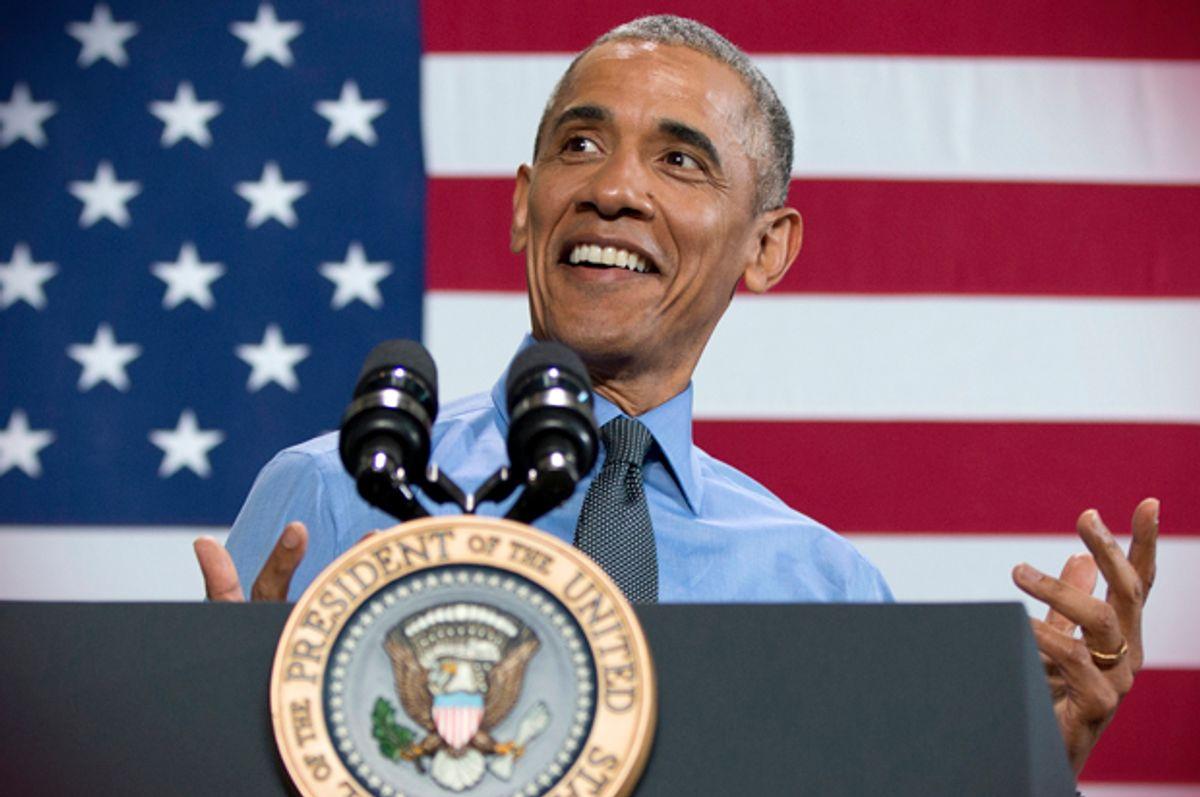 Barack Obama   (AP/Carolyn Kaster)