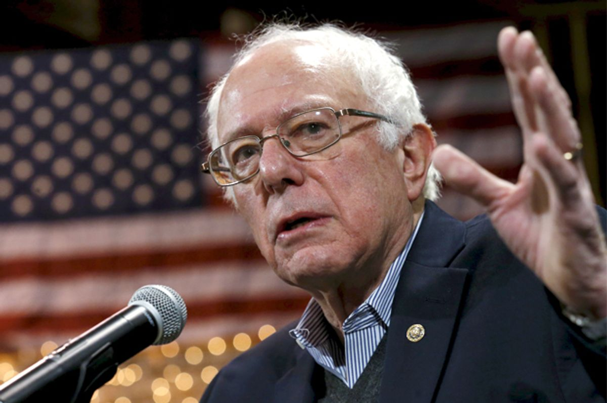 Bernie Sanders   (Reuters/Jim Young)