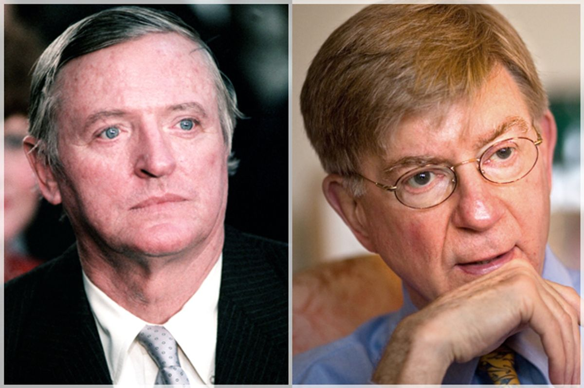 William F. Buckley, Jr., George Will   (Wikimedia/AP/J. Scott Applewhite)