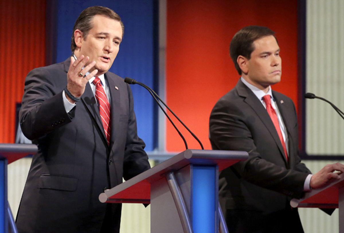 Ted Cruz, Marco Rubio   (AP/Chris Carlson)