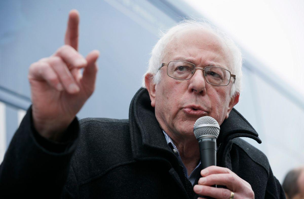 Bernie Sanders (AP/Charlie Neibergall)