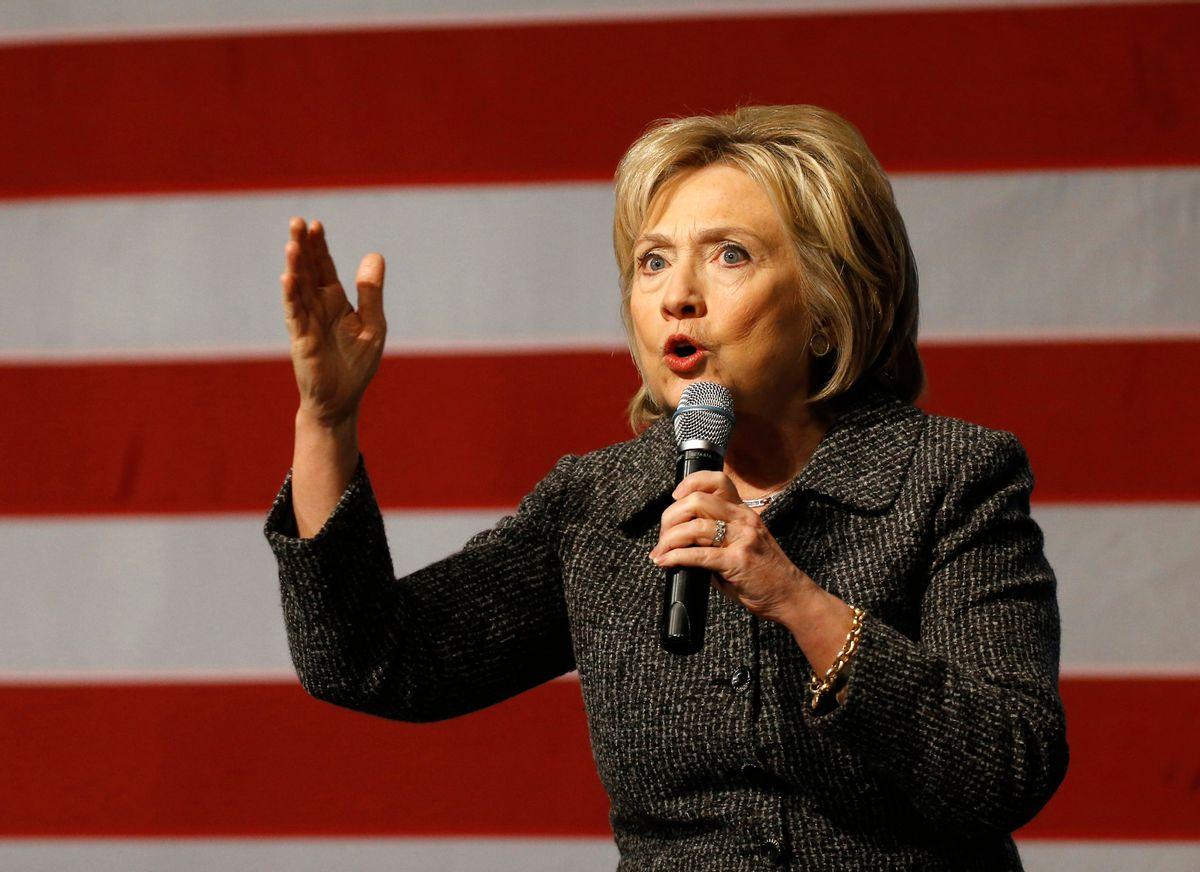 Hillary Clinton  (AP Photo/) (AP/Patrick Semansky)