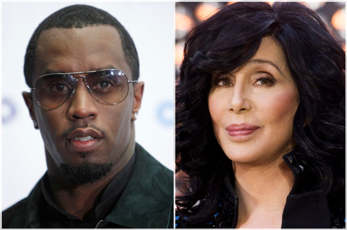 P. Diddy, Cher   (Reuters/Carlo Allegri/AP/Charles Sykes)