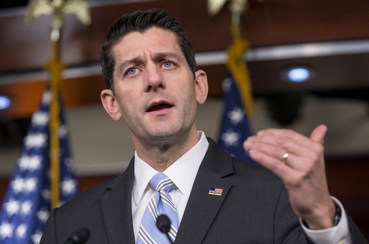 House Speaker Paul Ryan  (AP Photo/) (AP/J. Scott Applewhite, File)