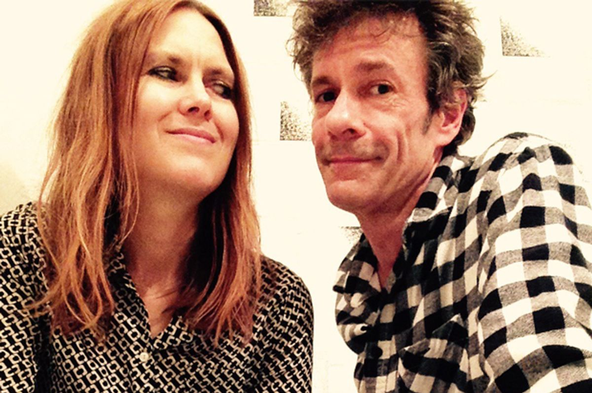 Julianna Hatfield and Paul Westerberg of The I Dont Cares