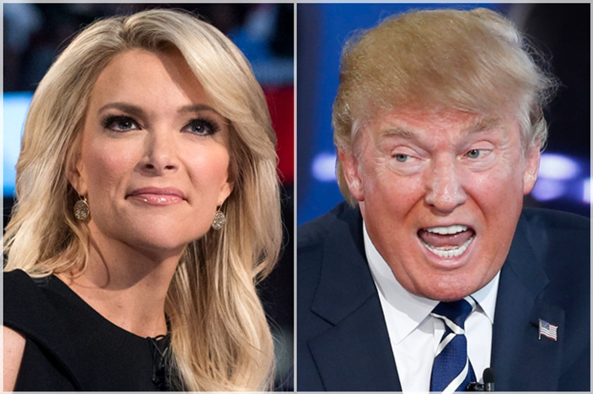 Megyn Kelly, Donald Trump    (AP/John Minchillo/Reuters/Lucy Nicholson)