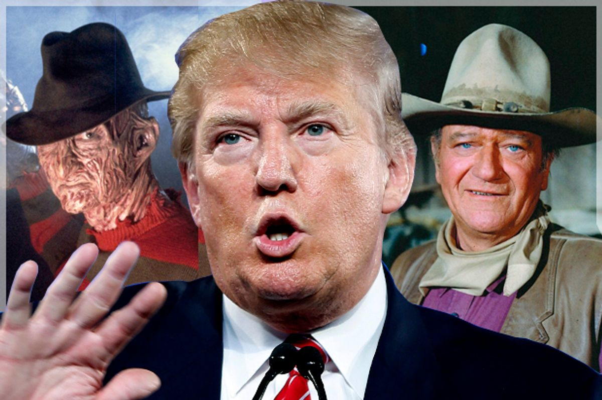 Freddy Krueger, Donald Trump, John Wayne    (New Line Cinema/AP/John Locher/Warner Bros./Salon)