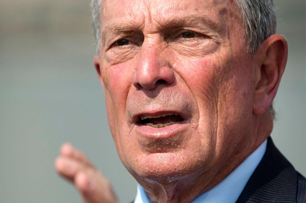 Michael Bloomberg   (AP/John Minchillo)