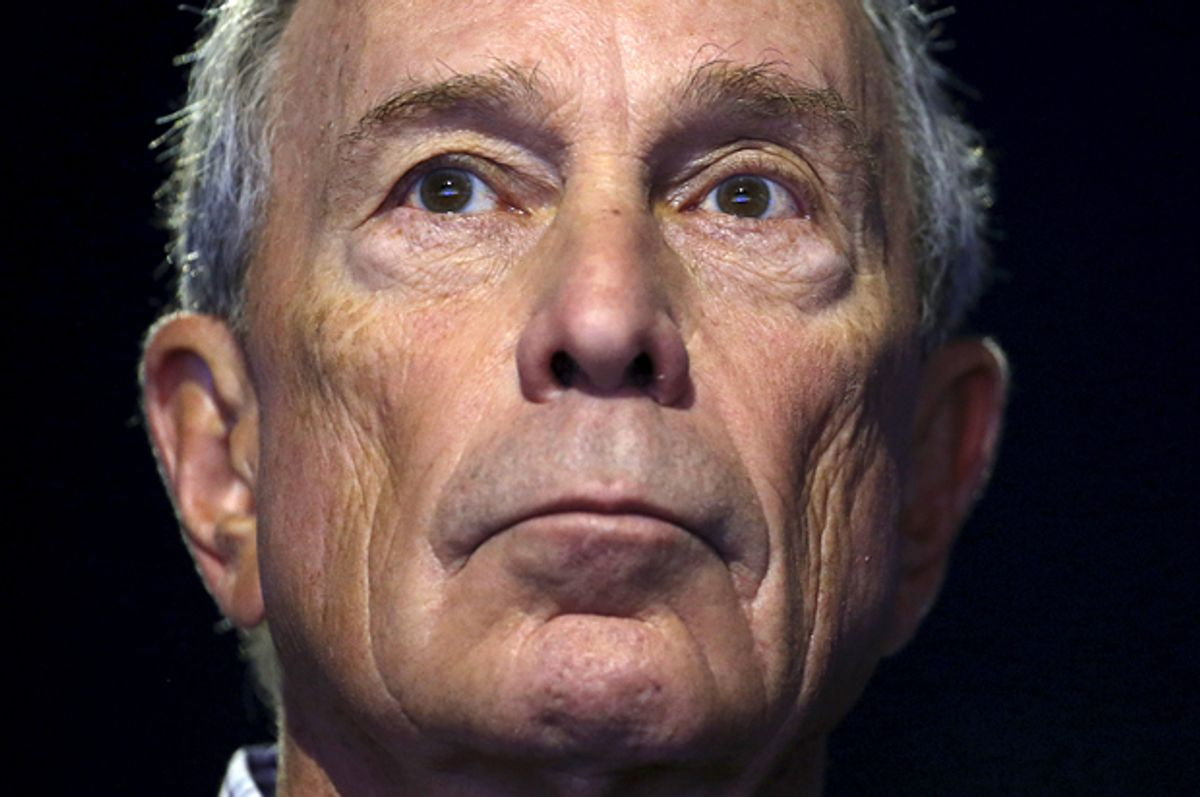 Michael Bloomberg   (Reuters/Stephane Mahe)