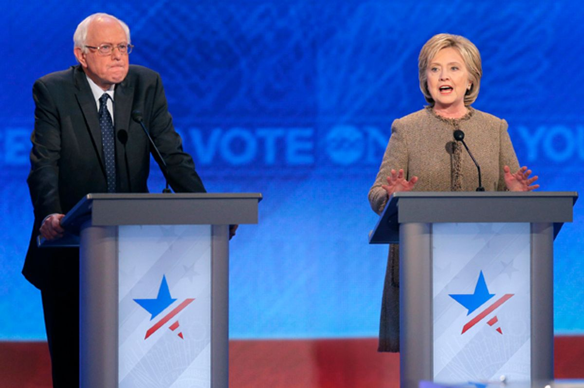 Bernie Sanders, Hillary Clinton   (Reuters/Brian Snyder)