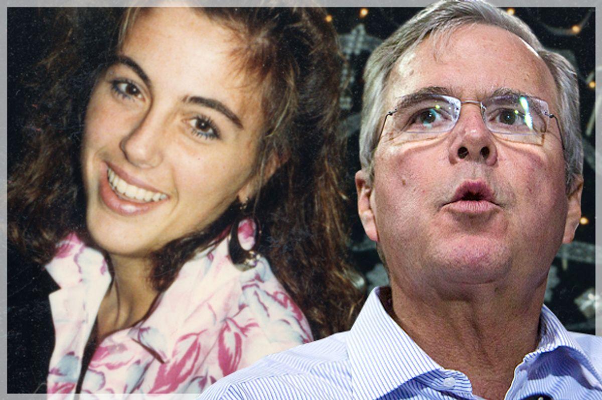 Terri Schiavo, Jeb Bush   (AP/Reuters/Deanna Dent/Photo montage by Salon)