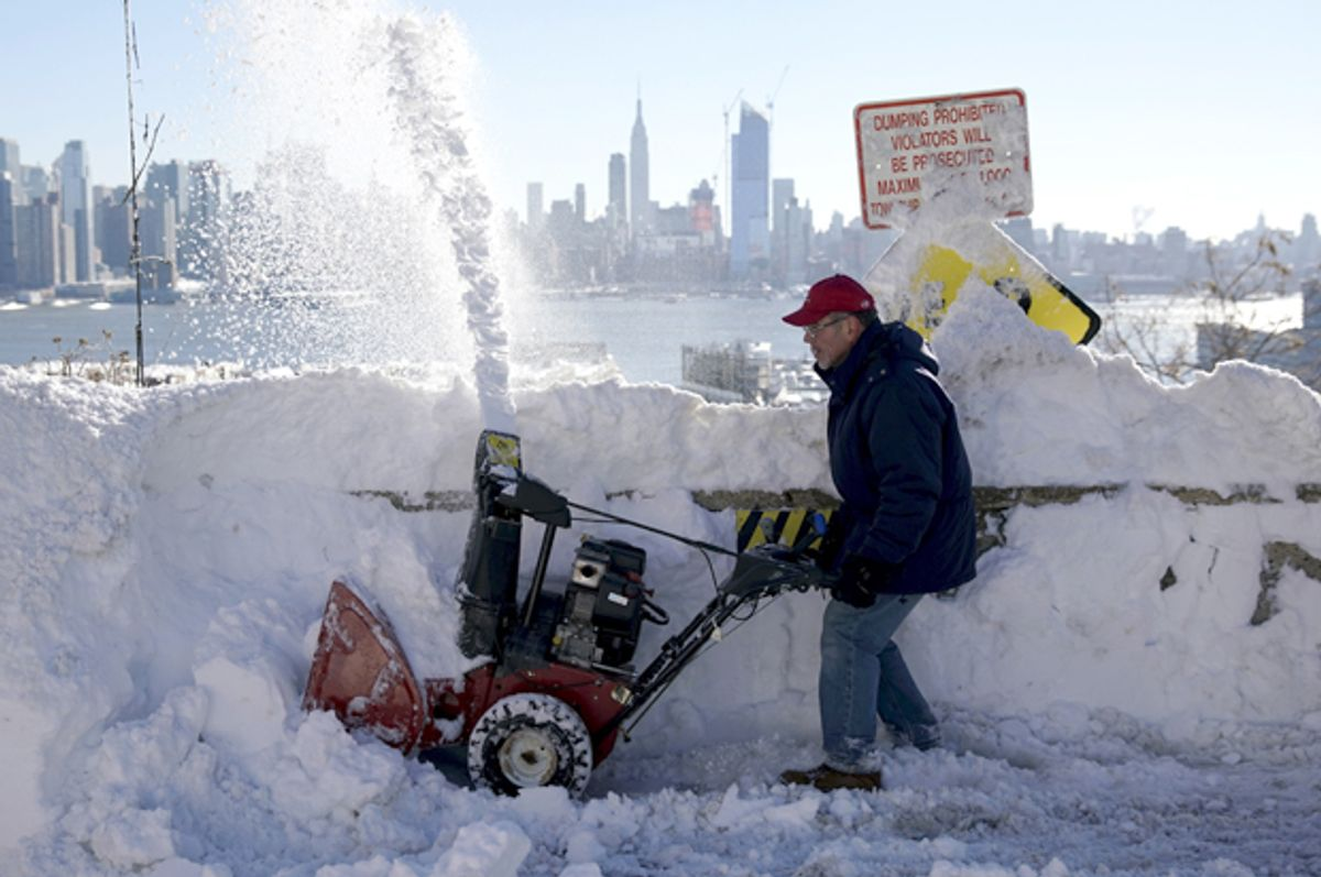 Union City, New Jersey, January 24, 2016.   (Reuters/Rickey Rogers)