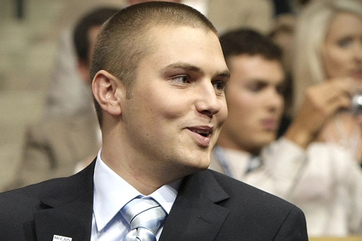 Track Palin, pictured in 2008.   (AP/Charles Rex Arbogast)