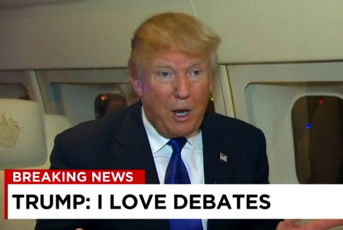 Donald Trump (Credit: CNN)