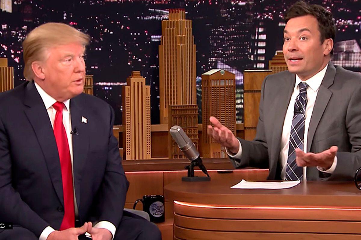 "Donald Trump on ""The Tonight Show Starring Jimmy Fallon""   (NBC)"
