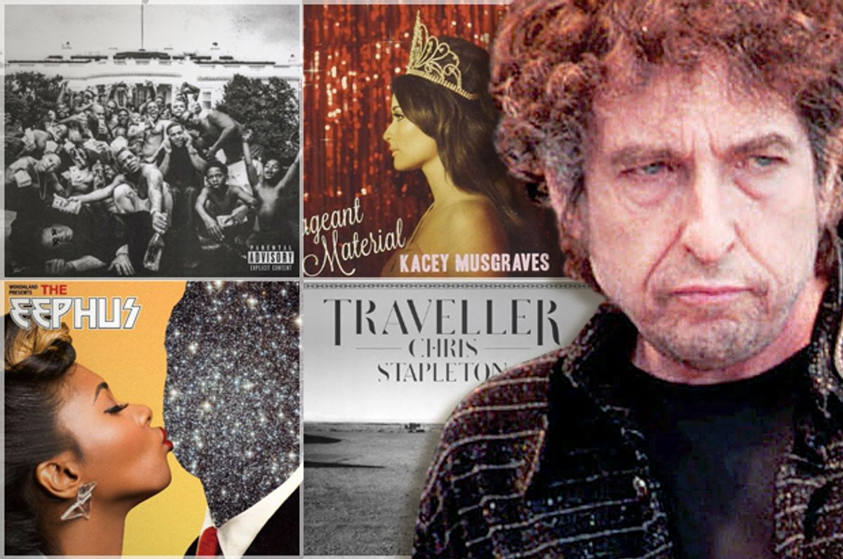 Bob Dylan   (AP/Stefan Rousseau/Salon)