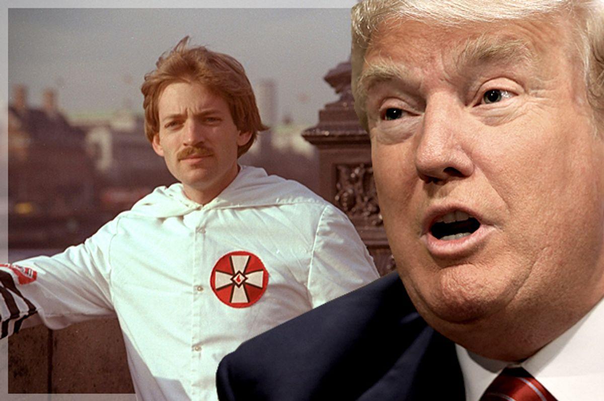 David Duke, Donald Trump   (AP/Reuters/Nati Harnik/Photo montage by Salon)
