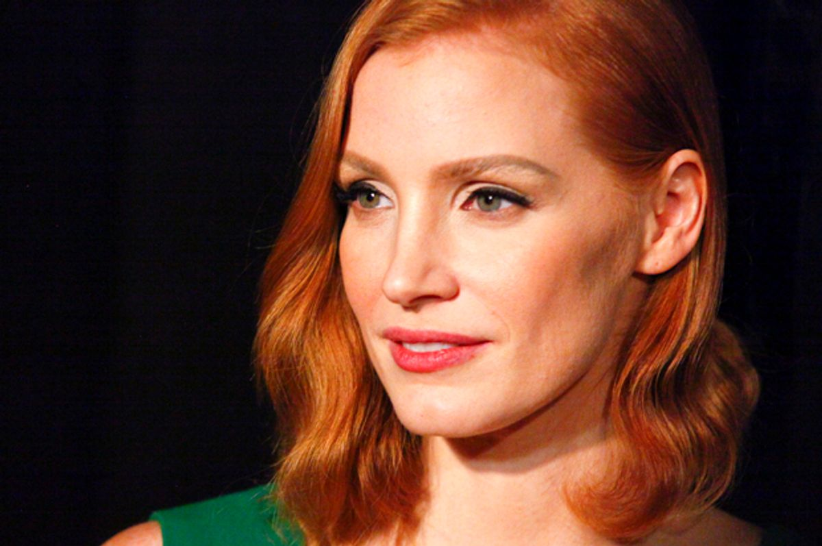 Jessica Chastain   (AP/Andy Kropa)