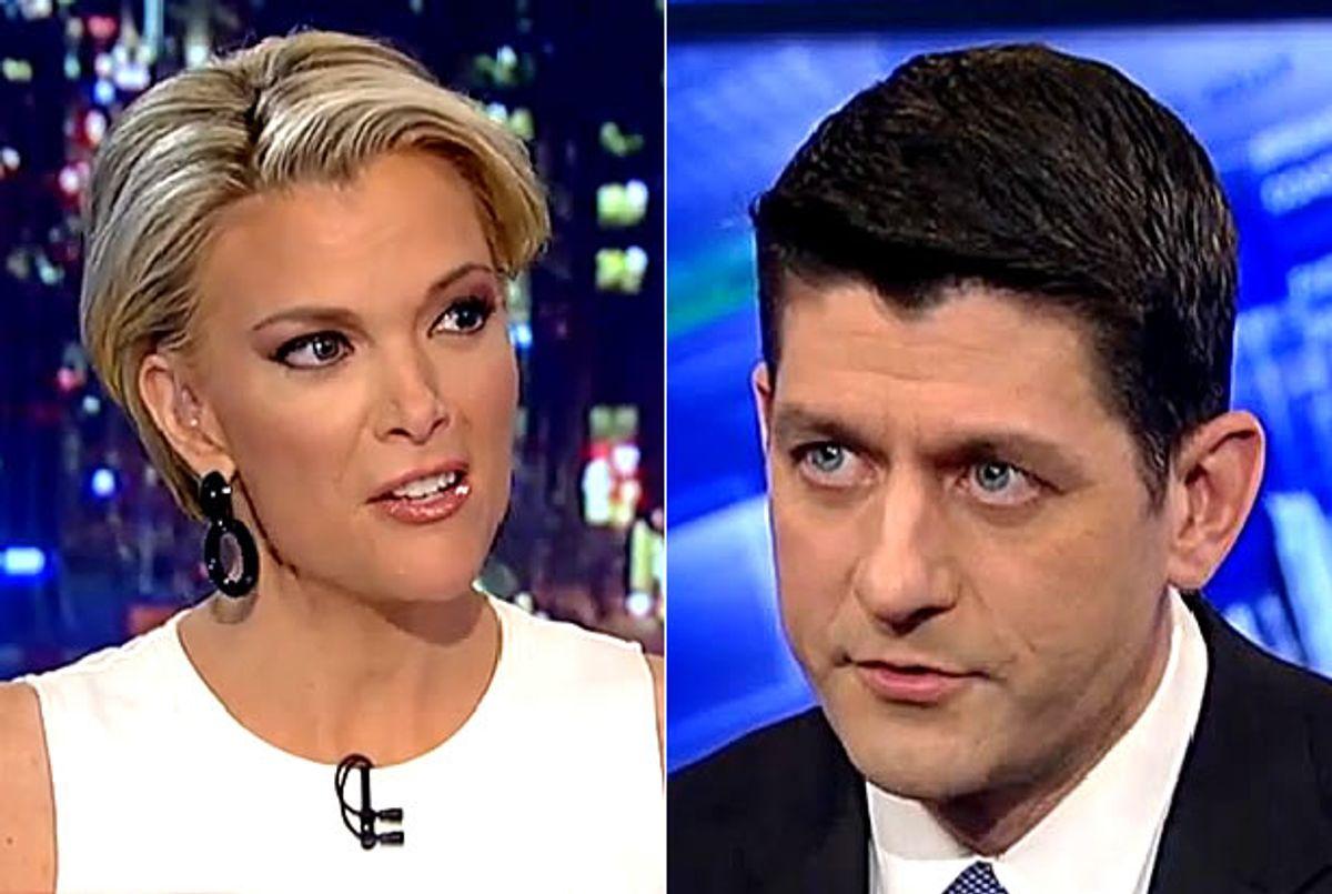 Megyn Kelly, Paul Ryan (Credit: Fox News)