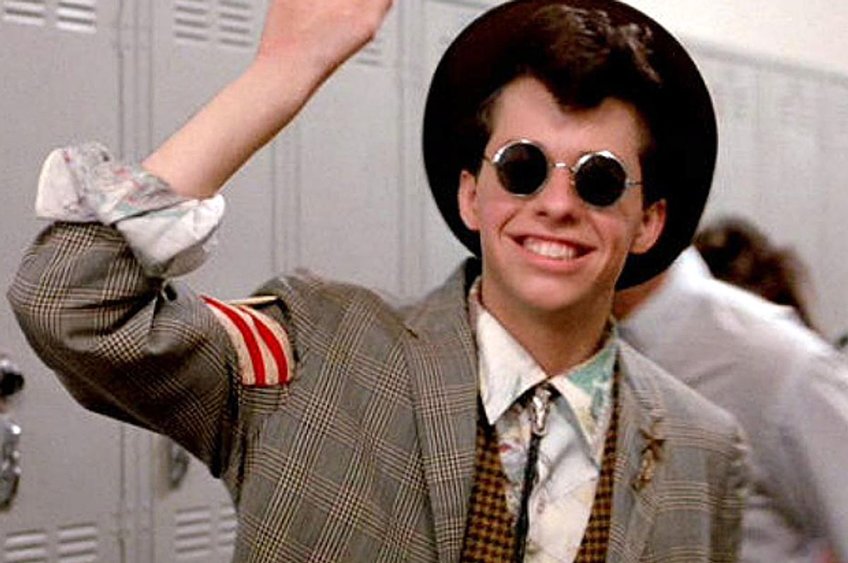 """Jon Cryer in """"Pretty in Pink""""   (Paramount Pictures)"""