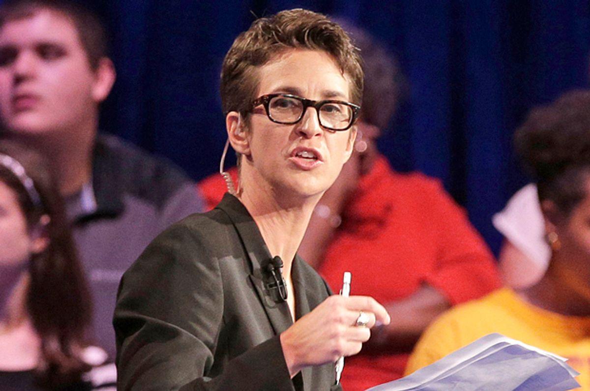 Rachel Maddow   (AP/Chuck Burton)