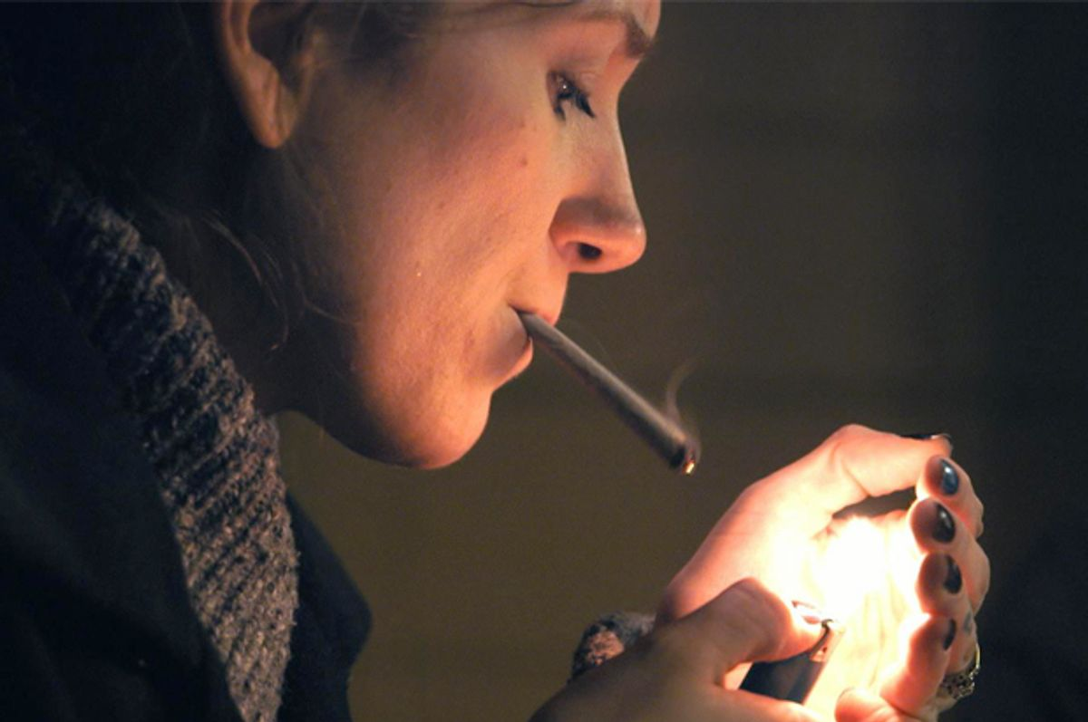 """Brittany Driver in """"Rolling Papers""""  (Alchemy)"""