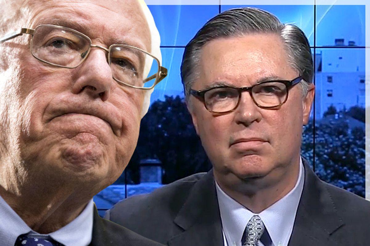 Bernie Sanders, Tad Devine   (Reuters/Joshua Roberts/Bloomberg)