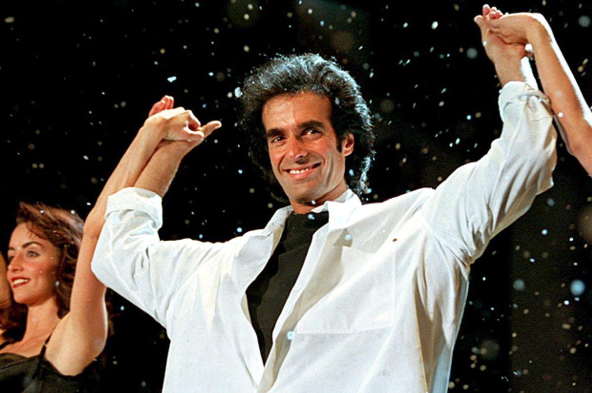 David Copperfield   (Reuters/Kai Pfaffenbach)