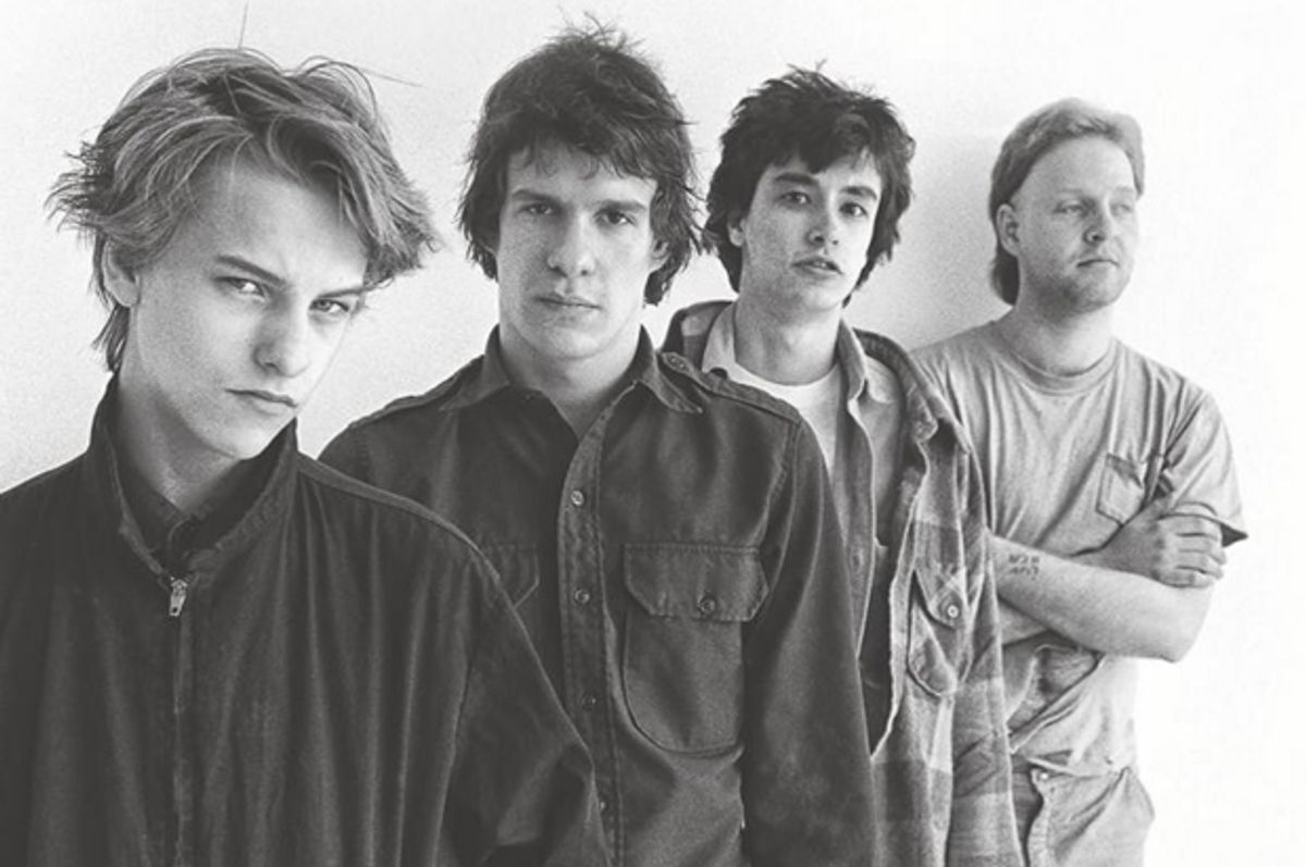 """The Replacements, from cover photo of """"Trouble Boys""""   (Da Capo Press)"""