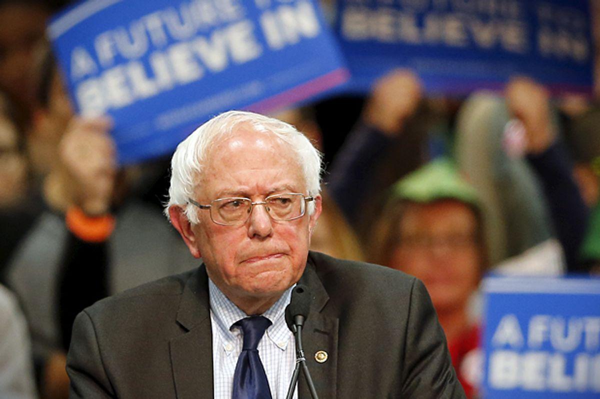 Bernie Sanders   (Reuters/Mike Blake)