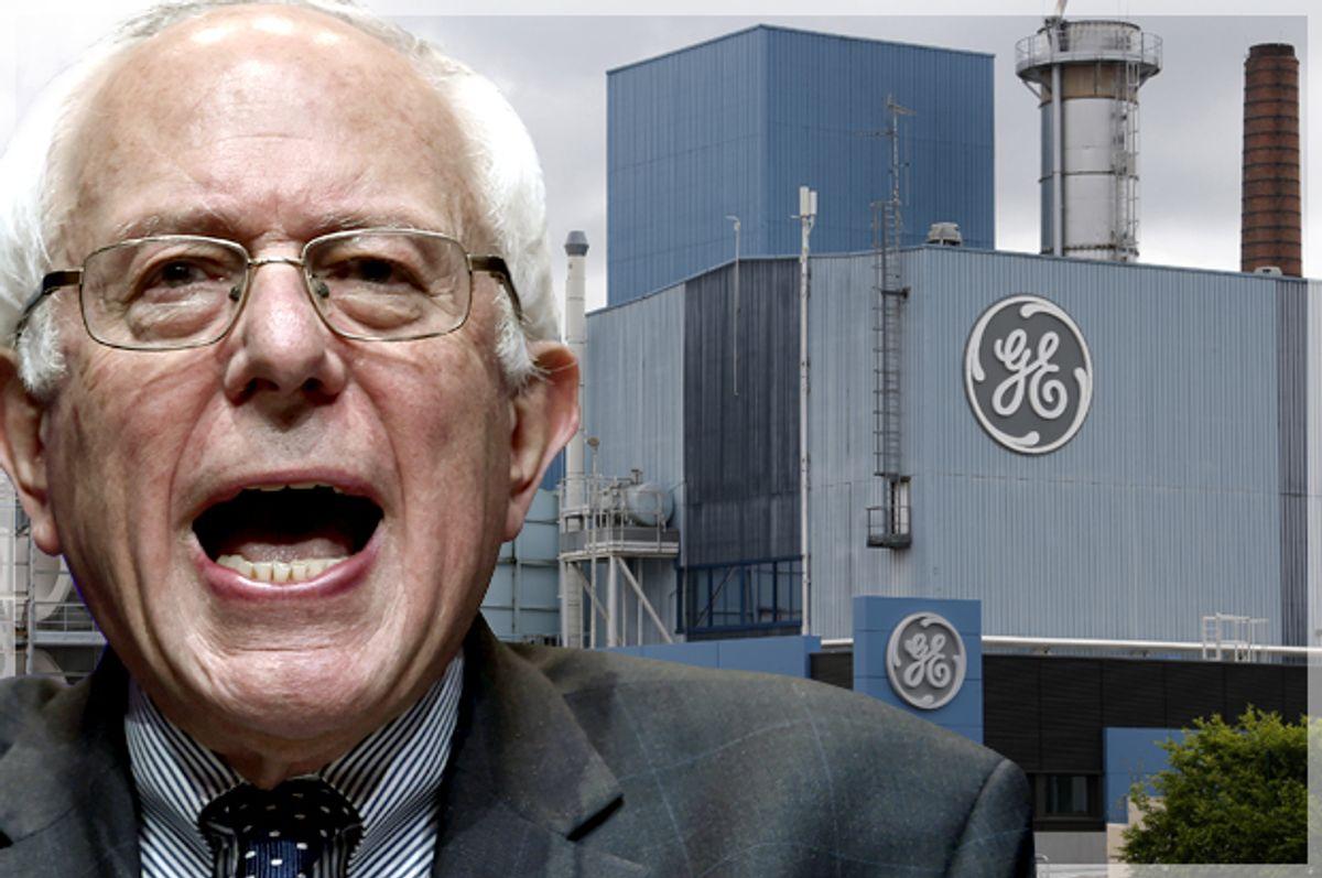 Bernie Sanders   (AP/David Becker/Reuters/Vincent Kessler/Photo montage by Salon)