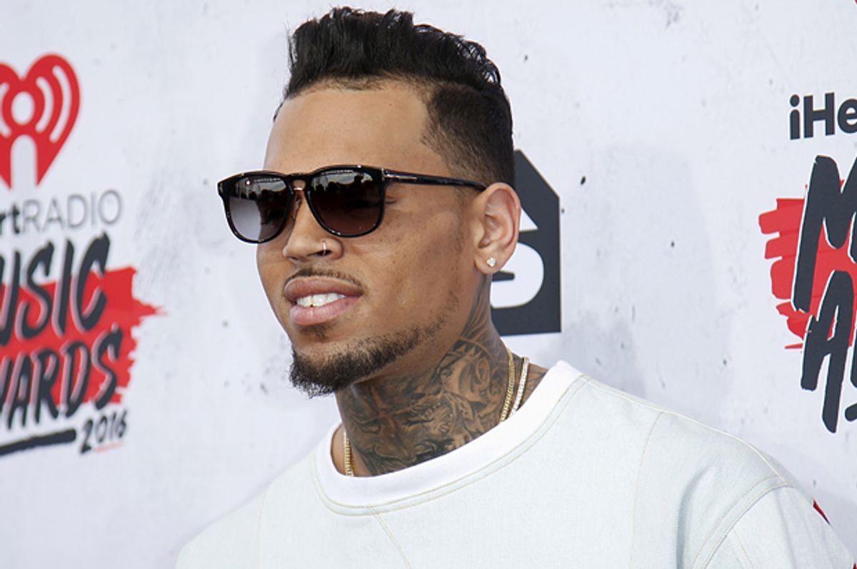 Chris Brown   (Reuters/Danny Moloshok)