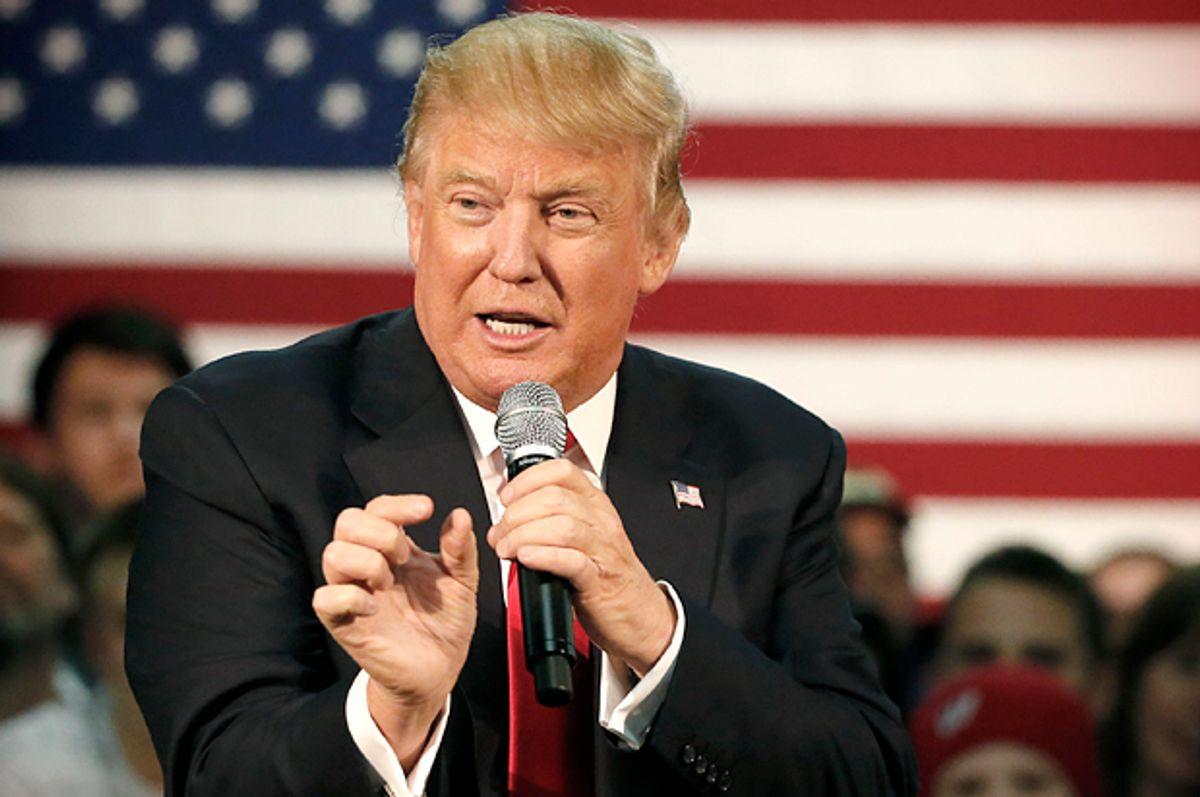 Donald Trump   (AP/Charles Rex Arbogast)