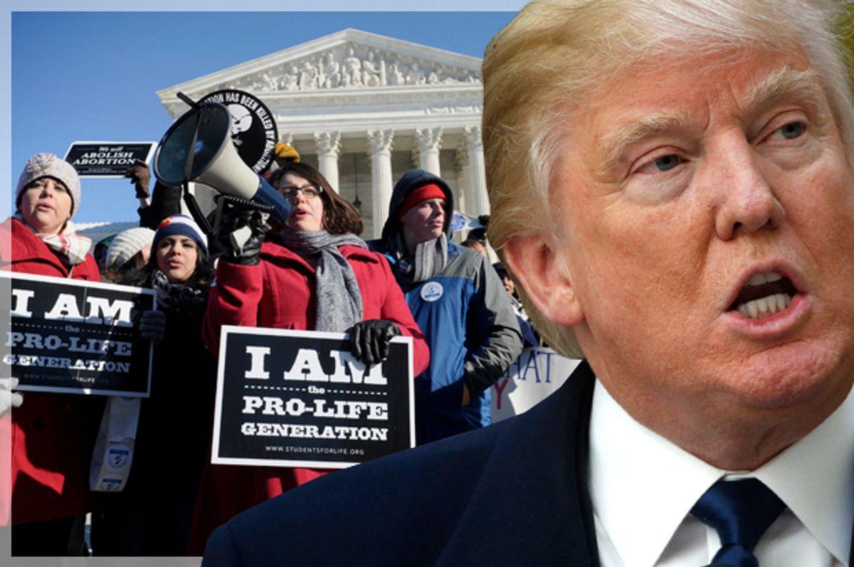 Donald Trump   (Reuters/Jim Bourg/AP/Susan Walsh/Photo montage by Salon)