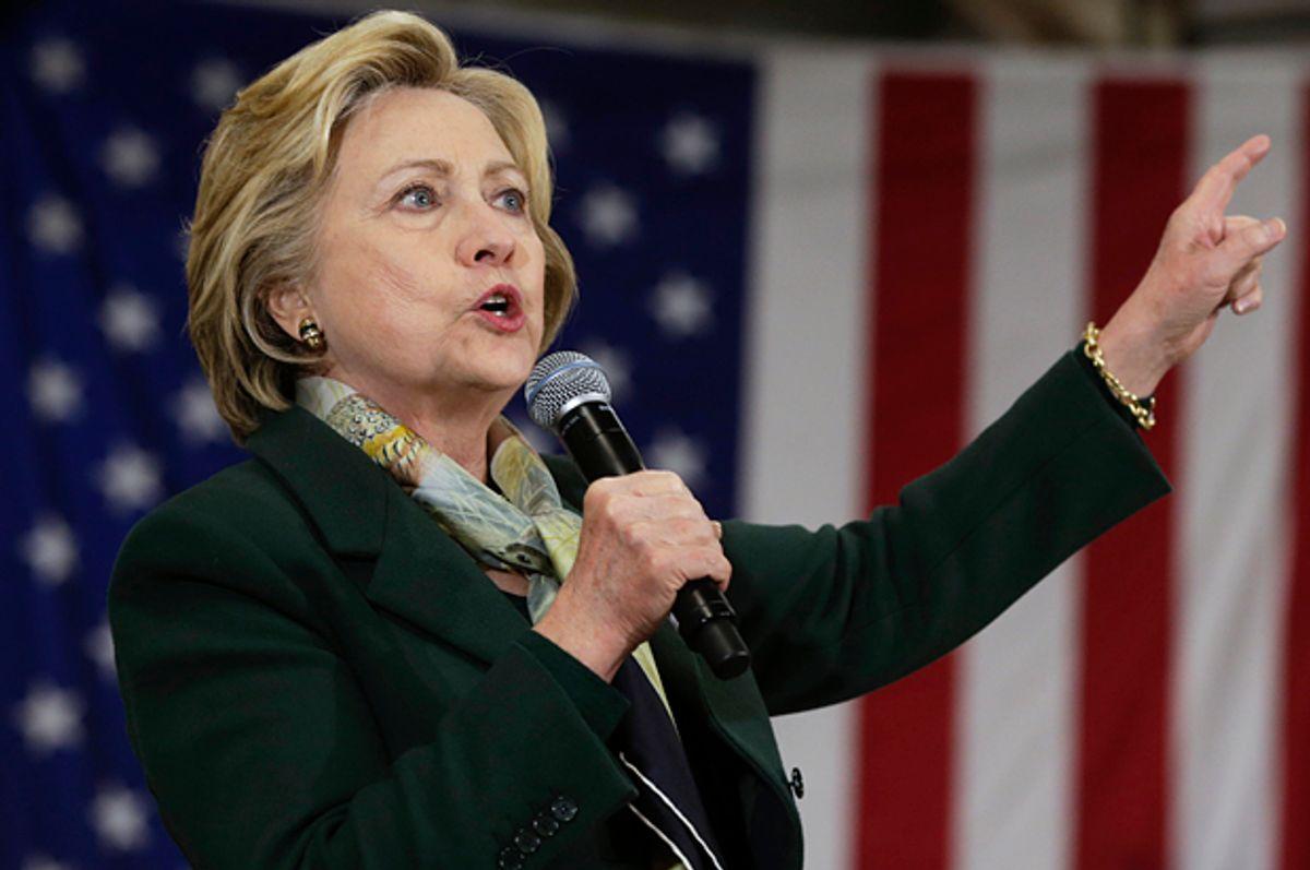 Hillary Clinton   (AP/Mike Groll)